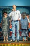 Berömmen av ungdomdagen i den Kaluga regionen i Ryssland på 27 Juni 2016 Royaltyfri Bild