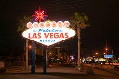 Berömt Las Vegas tecken Royaltyfri Foto