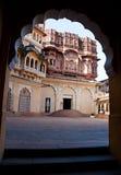 Berömt Mehrangarh fort i Jodhpur, Indien Arkivfoto