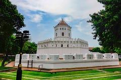 Berömt ställe i Thailand ( Phrasumen fort fotografering för bildbyråer