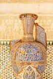 Berühmte Amphore in Alhambra-Palast Lizenzfreie Stockbilder