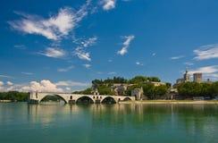 Berühmte Avignon-Brücke Lizenzfreie Stockfotos