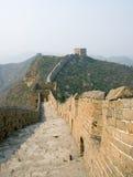 Berühmte Chinesische Mauer im Simatai lizenzfreies stockfoto