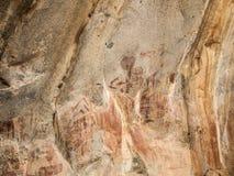Berühmte Felsmalereien in Iringa Lizenzfreie Stockfotografie
