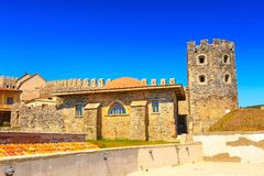 Berühmte Festung Rabat in Akhaltsikhe, Georgia Lizenzfreie Stockfotografie