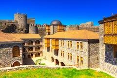 Berühmte Festung Rabat in Akhaltsikhe, Georgia Lizenzfreie Stockfotos