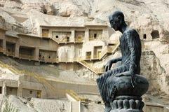 Berühmte Grotten in Xinjiang Lizenzfreies Stockfoto