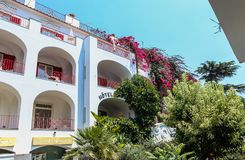 Berühmte Insel von Capri in Italien und im berühmten Lizenzfreie Stockbilder