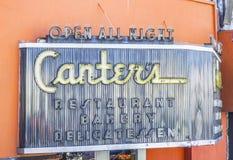 Berühmte Kanter Restaurant und Bäckerei in Los Angeles - LOS ANGELES - KALIFORNIEN - 20. April 2017 stockbild