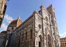 berühmte Kathedrale in Florenz, Italien Lizenzfreies Stockbild