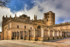 Kathedrale von Zamorra (Spanien) Lizenzfreies Stockfoto