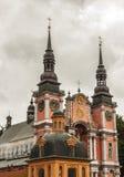 Berühmte Kirche in heiligem Lipka - Polen. Lizenzfreie Stockfotografie