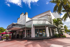 Berühmte Kolonie Art Deco Theater Lizenzfreies Stockbild