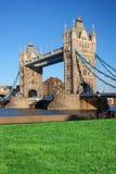 Berühmte Kontrollturm-Brücke, London, Großbritannien Lizenzfreies Stockfoto