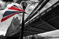 Berühmte Kontrollturm-Brücke, London, Großbritannien Lizenzfreie Stockfotos