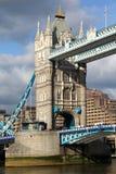 Berühmte Kontrollturm-Brücke, London, Großbritannien Stockbild