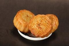 Berühmte Nahrung des Chinesen--Mondkuchen lizenzfreie stockbilder