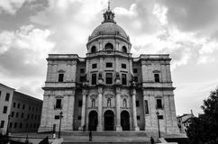 Berühmte Pantheon- oder Santa Engracia-Kirche in Lissabon, Portugal Lizenzfreie Stockfotografie