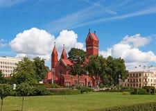Berühmte rote Kapelle Stockfotografie