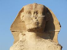 Berühmte Sphinx lizenzfreies stockbild