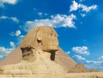 Berühmte Sphinx Lizenzfreie Stockfotografie