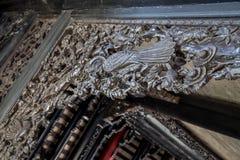 Berühmte Touristenattraktionen Guangzhous, China, ererbte Halle Chens, geschnitzt mit Holz schnitzten Guangdong-Sympathieträger,  Lizenzfreie Stockbilder