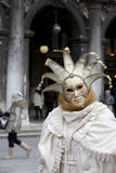 Berühmte traditionelle Dekoration von Venezia, Italien Lizenzfreie Stockfotos