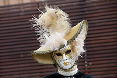 Berühmte traditionelle Dekoration von Venezia, Italien Stockfotos