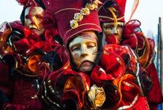 Berühmte traditionelle Dekoration von Venezia, Italien lizenzfreies stockbild