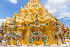 Berühmter Bangkok-Tempel Lizenzfreies Stockfoto