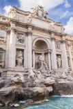 Fontana di Trevi, Rom, Italien Stockbild