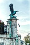 Berühmter Eagle Statue bei Sonnenuntergang Lizenzfreies Stockbild