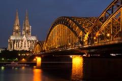Berühmter internationaler Grenzstein in Deutschland Lizenzfreies Stockbild