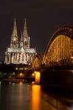 Berühmter internationaler Grenzstein in Deutschland Stockbild