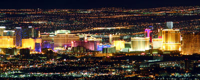Berühmter Las- Vegasstreifen Lizenzfreie Stockfotos