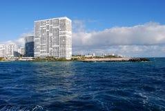 Berühmter Lauderdale Kondominium-Punkt von Amerika lizenzfreie stockbilder