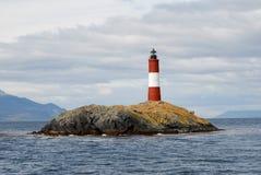 Berühmter Leuchtturm auf dem Spürhund-Kanal Lizenzfreie Stockfotografie