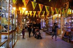 Berühmter Markt in Isfahan, der Iran stockfotos
