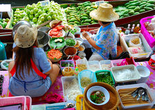 Berühmter Nahrungsmittelmarkt Stockfotos