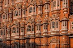 Berühmter Palast in Jaipur, Indien Stockfotos