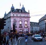 Berühmter Piccadilly-Zirkus, einer der bedeutenden Anziehungskraft von London, Lizenzfreie Stockfotografie