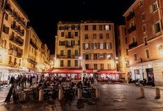 Berühmter Platz Rossetti, Nizza Lizenzfreies Stockfoto