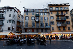 Berühmter Platz Rossetti, Nizza Lizenzfreie Stockfotografie