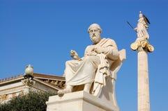 Berühmter politischer Mann des Griechen Stockbild