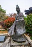 Berühmter Schreibkünstler Wang Xizhi stockbild