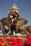 Berühmter Scottsdale-Brunnen stockfoto