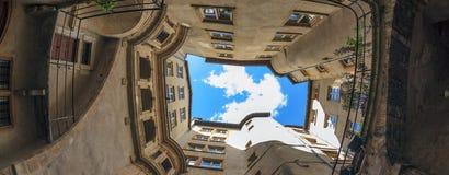 Berühmter Standort in Lyon-Stadt Stockfotos