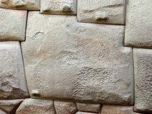 Berühmter Stein mit 12 Winkeln in der Inkawand Stockbild