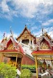 Berühmter Tempel in Bangkok Thailand Stockbild