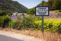 Berühmter touristischer Bestimmungsort in Provence, Frankreich Lizenzfreie Stockfotos